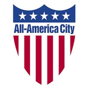 All America City logo
