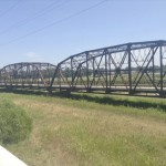 This is a bridge that is now going to be part of a Route 66 park near Bethany, Oklahoma. It is the first large bridge that Freeze has crossed coming from the west. Photo by David Freeze