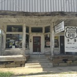 This is the general store in Halltown, Missouri, near where Freeze spent Monday night. Photo by David Freeze