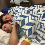 Chase and Annie in ICU. Photo by Julie Deal