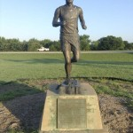 Andy Payne of Foyil, Oklahoma won the 1928 Great Transcontinental Footrace. He won the first time race against many experienced runners at age 20 and took home $25,000. Photo by David Freeze
