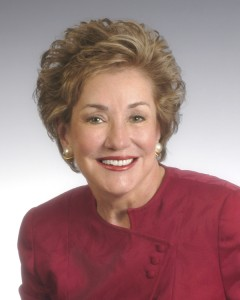 """Elizabeth Dole did such a masterful job speaking about husband Bob when he was running for president that people asked, """"Why doesn't SHE run for president?"""""""