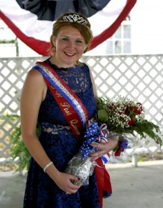 O'Shannus Wood, representing VFW Post 9134, was named 2016 Miss Rowan County Veteran.   Dilly Dally won Most Unique Float and Anna Craig Boutique won Best Amateur Float. Photo by Jon C. Lakey/ Salisbury Post