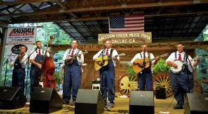 The group recently played  in Dallas, Ga.