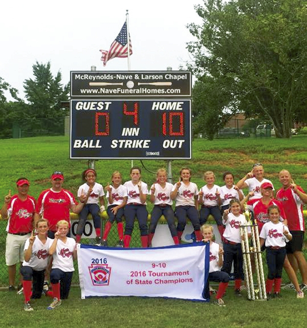Little League 10U Champs - Salisbury Post