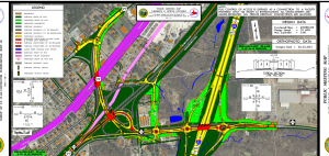 Click on the above image to see a map of the proposed interchange.