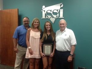 Raven Corbett is the co-winner of a scholarship provided by Industrial Supply Solutions.