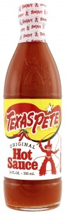 The new Texas Pete bottle.