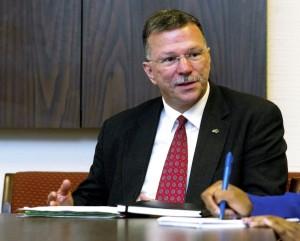 Salisbury Police Chief Jerry Stokes.