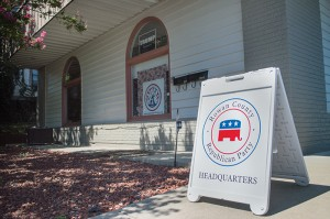 Josh Bergeron / Salisbury Post - The Rowan County GOP Headquarters is locatated on North Main Street in Salisbury. In previous years, the local Republican Party has operated its headquarters in downtown Salisbury.