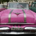 Vintage cars parked near the capital and the Grand Theater are a huge tourist draw. Susan Shinn/For the Salisbury Post