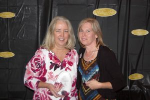 Amanda Raymond/Salisbury Post Susan Dry won the Skilled Nursing Home Social Worker of the Year award and Becky Warlick won the Novant Social Worker of the Year award at the Healthcare Gala honoring social workers and case managers on Thursday at the Salisbury Country Club.