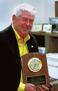 Submitted photo     Gerald Adams, director of the Yosef Club at Appalachian State University, was known as 'Mr. Yosef' at the school.  He died Wednesday.