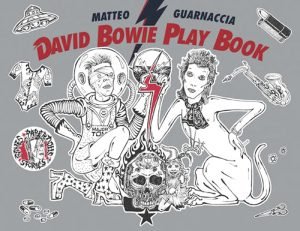 """David Bowie Play Book,"" an activity book on the life and times of David Bowie."