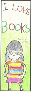 The bookmark winner for 10- to 11-year-olds is Ansley Seo