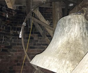 Submitted photo The bell of downtown Salisbury's Bell Tower has not rung in years because of structural decay. A grant to help with the repairs from the North Carolina Department of Commerce was approved by the Salisbury City Council on Tuesday.