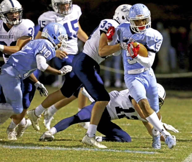Prep Football: West Shut Down By Bulls