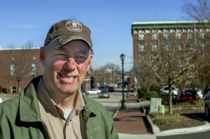 Josh Bergeron / Salisbury Post - Travis Morehead, the executive director of the Central NC Landtrust, poses for a picture.