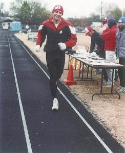 John Zerger in a 48- hour run in Plano, Texas, in 1992. He still has the outfit. Submitted photo.