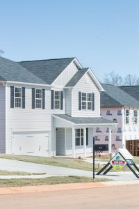 Josh Bergeron / Salisbury Post - After experiencing some difficulty at the start, the Miller's Grove neighborhood has seen a number of new houses developed in recent years. The neighborhood is located off of N.C. 152 in China Grove.