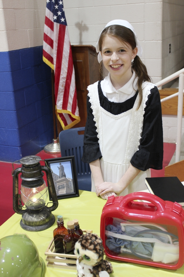 Salisbury Academy Students Take A Step Back In Time