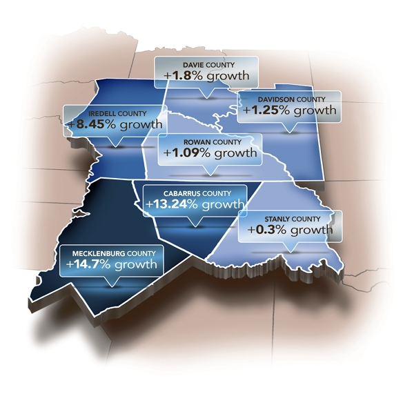Census: Rowan County Grew 1 Percent From 2010 To 2016