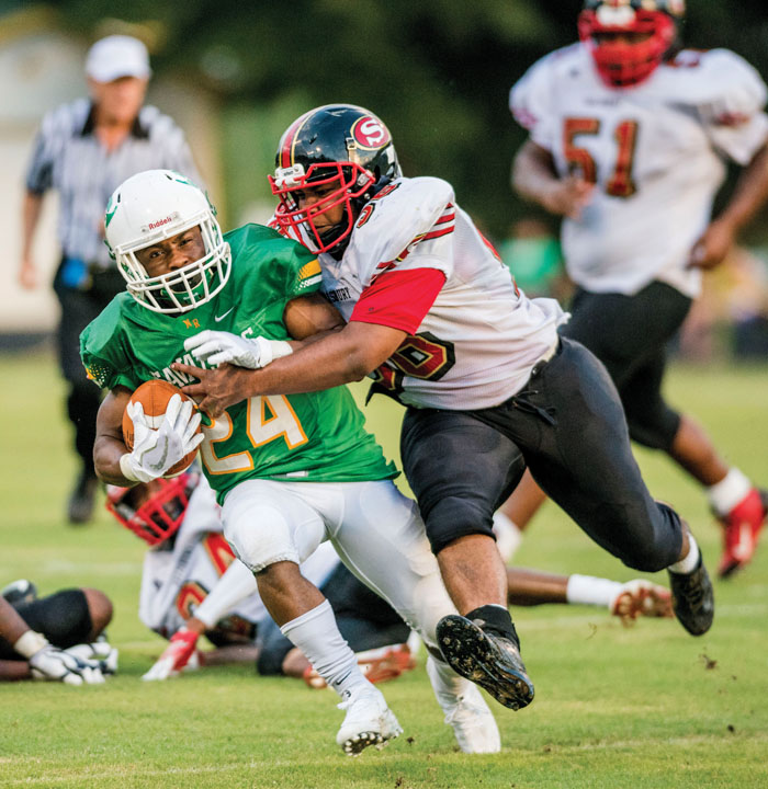 North Rowan's Defense, Webster's Running Sparks Victory