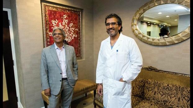 Doctors Ranjan and Sam Roy
