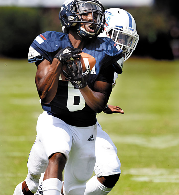 College Football: Catawba's Thomas Emerging As Go-to