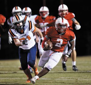 East Rowan Runs To Victory In Shootout With Carson 53 30