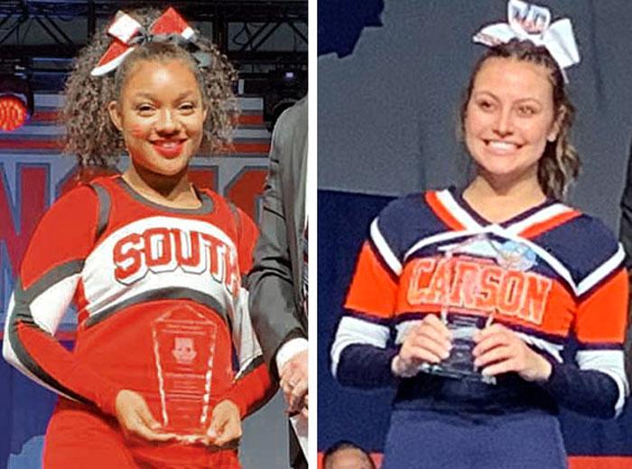 NCHSAA Cheerleading Invitational: Davie takes Cup, local girls win  scholarships - Salisbury Post | Salisbury Post